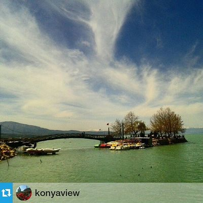 Foto : @konyaview ・・・ Konya/Beyşehir Gölü Comseekonya Konya Beysehir gölü