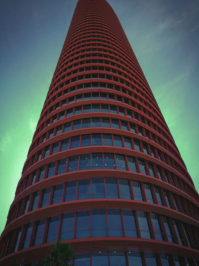 Skyscraper Architecture Built Structure Tower Business Finance And Industry Office City No People Sevilla, España