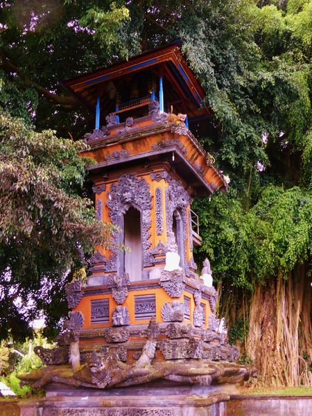 Architecture Bali Balinese Balinese Temple Built Structure Culture Day Exterior Façade Green Color Growth Low Angle View Nature No People Outdoors Plant Sky Temple - Building Tree