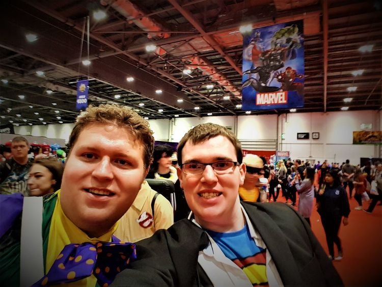 London Comic Con 2017 2017 2017 Year 2017 Photo England, UK Great Britain LONDON❤ London London 2017 London lifestyle United Kingdom Adult Adults Only Celebration Cheerful Day Happiness Indoors  Large Group Of People Men People Portrait Real People Smiling Uk England Young Adult