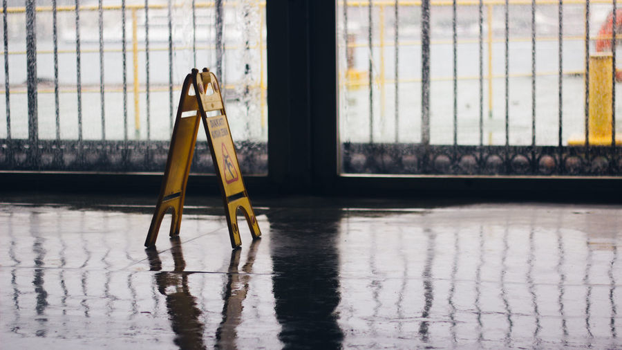 Bright Canon Canonphotography Caution Close-up Closed Day Detail Empty Floor Focus On Foreground Full Frame No People Sign VSCO Vscofilm Water Wet Wet Floor