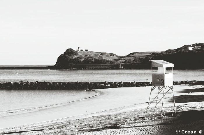Beachphotography Blackandwhite Summertime Beach Sea