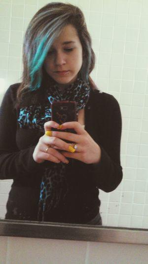 Haircolor Blue&silver