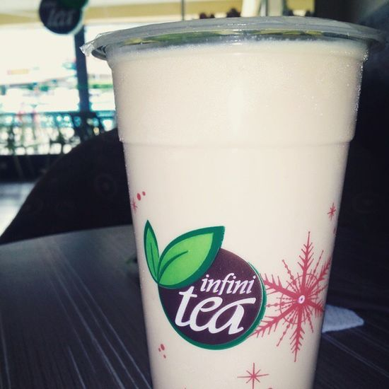 Chilling out here Wintermelon Milktea Infinitea