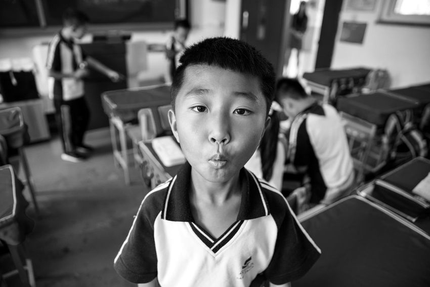 Childhood Elementary Age Focus On Foreground Classroom Portrait Close-up Eye4photography  Check This Out Enjoying Life Live For The Story Eyeemphotography EyeEm Best Shots EyeEm Taking Photos EyeEmBestPics Student Chinese Students China