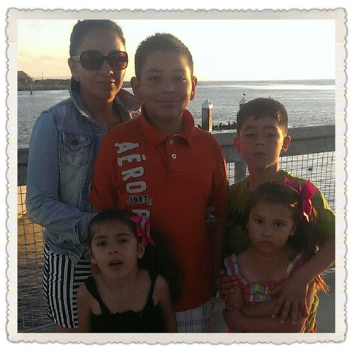 """Nice weather at the beach :) with the family:)""""* love it"""