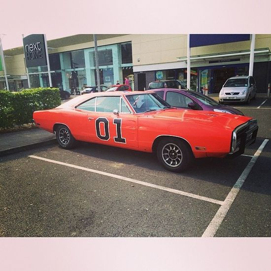 For some reason Generallee was parked down by the cinema today