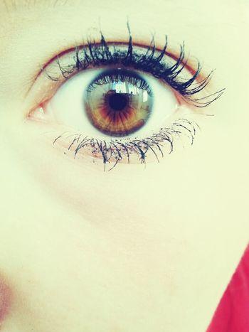 Augenkontakt Fenster Zur Seele Hass Und Liebe