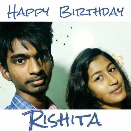 Unfortunately you're born on this day! Happy Birthday my dear 4 - years younger sister 😜😂 Live long.. Have fun! Enjoy life.. Be happy! 😊HappyBirthday Rishita May8 Happy Excited Enjoy LiveLong