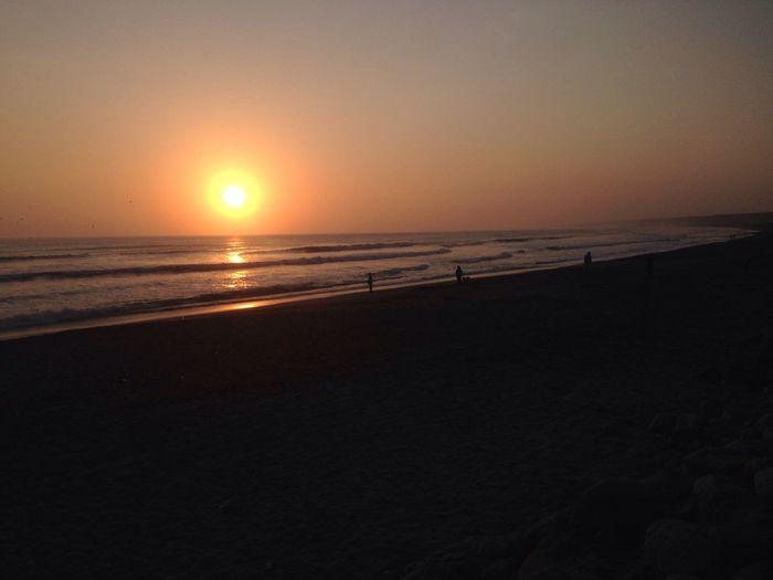 Sunset Huanchaco - Perú Sunset