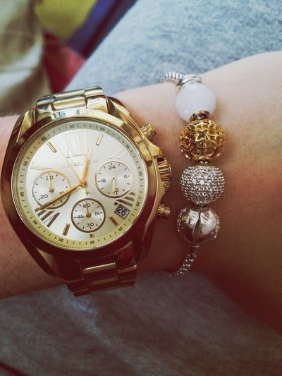 Love Michaelkors and my new Karma Bead by Thomas Sabo :)