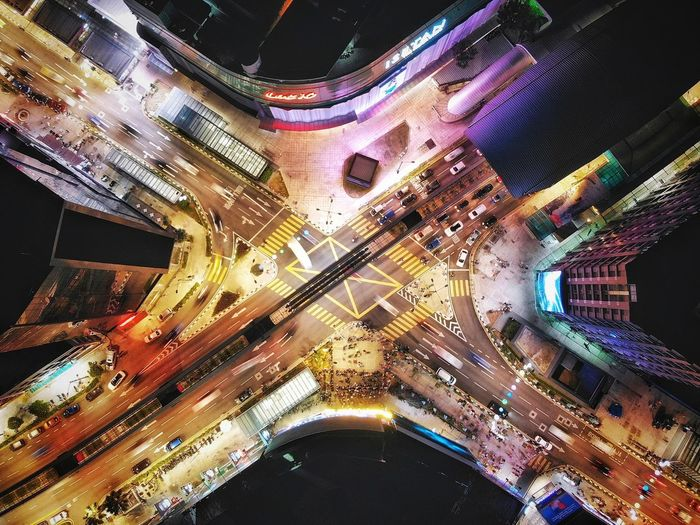 Aerial shot of street junction at night Cityscape Downtown District Travel Destinations Travel Landmark Aerial View Aerial Photography High Angle View Outdoors EyeEm Selects EyeEm Gallery Business Kuala Lumpur Eyeemphotography EyeEm Masterclass EyeEm Best Shots Nightphotography Illuminated Technology Multi Colored Close-up Light Painting Light Trail Long Exposure Vehicle Light High Street