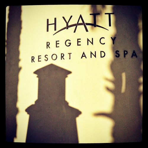 Phare shadow on the Hyatt Regency Resort Spa hotel huntington beach for the IES IESCON IES_EP annual conference