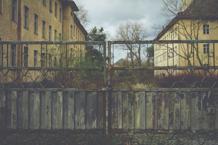 Abandoned Adventure Canon Colors Faded Gate History Locked Old Overgrown Soviet Traveling