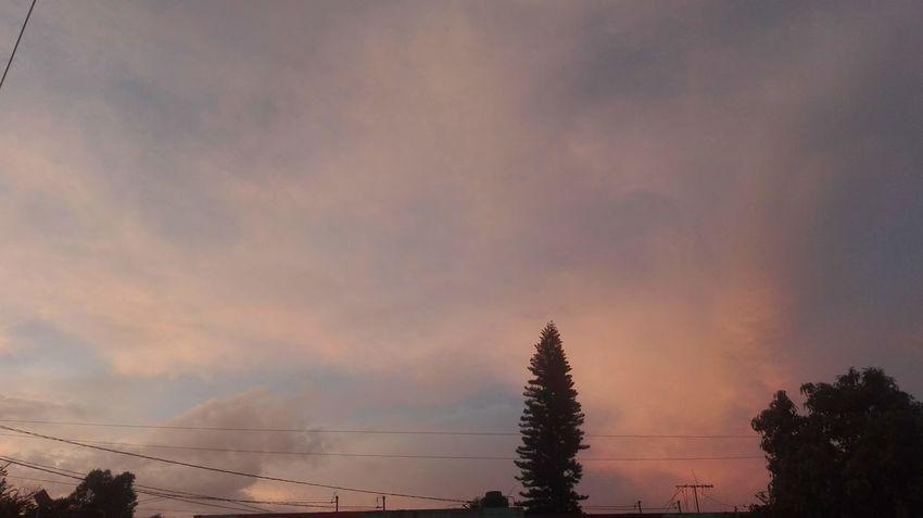 Una tarde Self Perspective Walker Contemplando Multi Colored Sky Spectrum