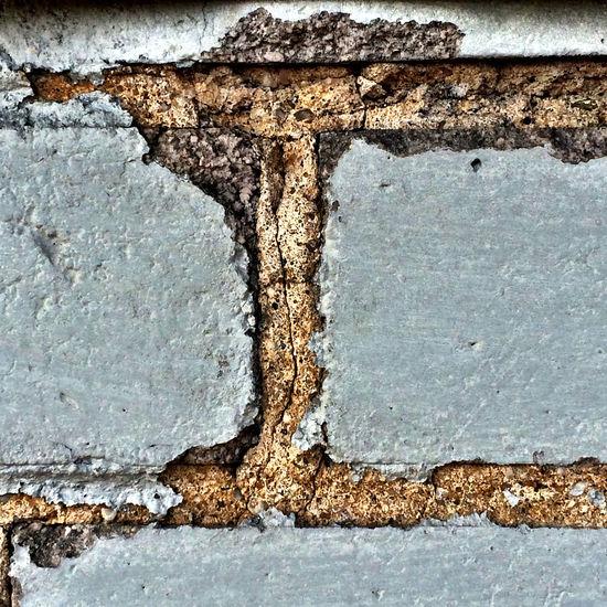 Brickwall Cracks In A Brickwall Textures And Surfaces Wall Textures Macro_collection Macro Photography EyeEm Macro Macro Shot Macrooftheday EyeEm Best Shots