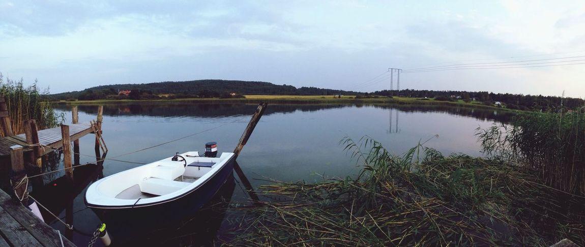 Summer Boat Evening