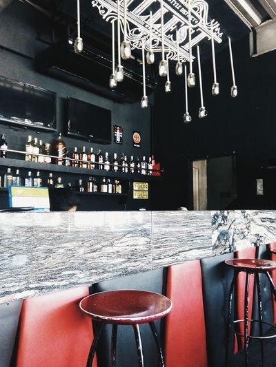 Taking lunch at Illest RestoBar. Bar Restaurant Drinks Outofnowhere Shooting Black Classy