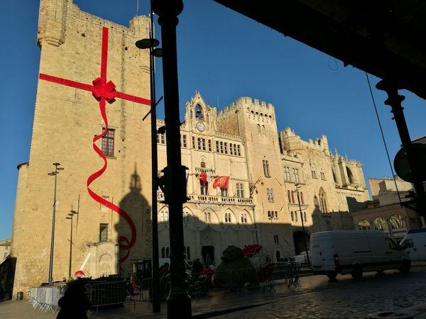 La Plaza de Narbone muy Navideña