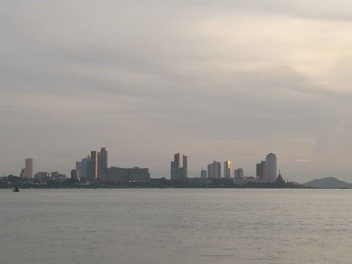 Cityscape Sky sea Outdoors Scenics Sunset