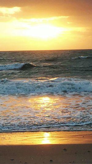 Easter Sunday sun rise on the beach. First Eyeem Photo