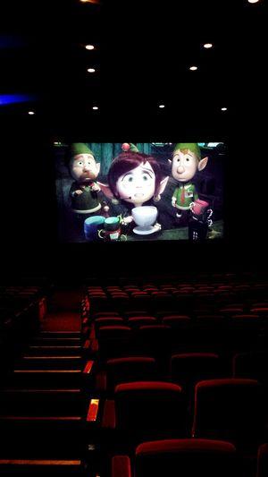 Prep & Landing in the Main Theatre