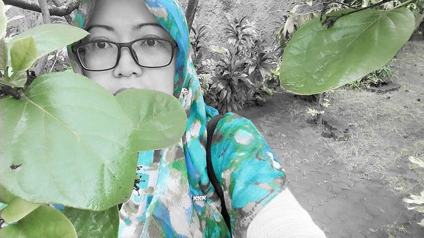 Behind the green ...GO GREEN..naaa . Showcase: February SelfishSelfie Glasses👌 My Sight Feeling Inspired Womanportrait EyeEm Nature Lover Senses The Portraitist - 2016 EyeEm Awards