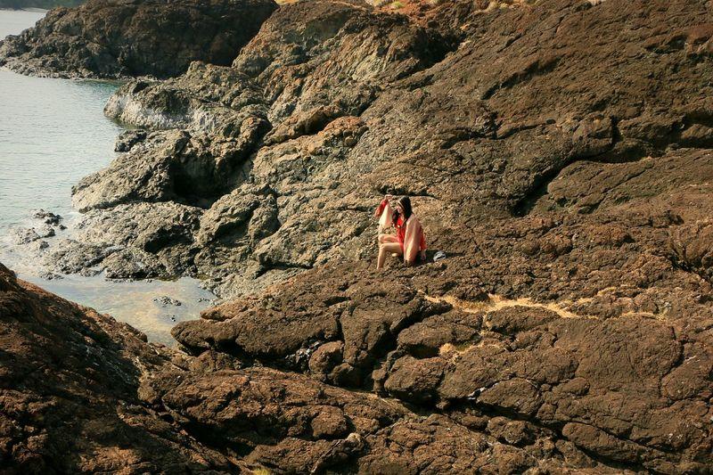 Landscape Rocks And Water Taking Photos The Week On EyeEm Eyeem Philippines Calaguas Island