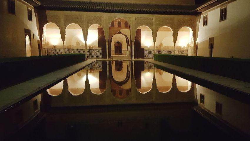 Palacio Nazaries Arabic Culture Architecture Travel Destinations Water Reflection Alhambra Y Generalife The Week On EyeEm