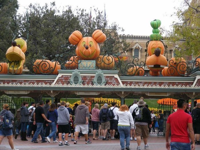 😍😍🍁🍂🍁🍂 Halloween Time Disneyland Disneylandresort Disney World Anaheim Love ♥ i want live in Disney 😭😭😭 Disneycalifornia DisneyMagic  😍😍😍