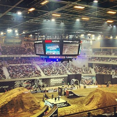 Motocross Gdansk Sopot Poland world cup bikes night of jumps diverse