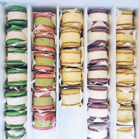French macaroon ice cream sandwiches Food Porn Awards French Macarons French Macarons Macaron Macaroons Macaroon Ice Cream Icecream Ice Cream Sandwiches Dessert Desserts Sweet Sweets Dairy Freshness Close-up High Angle View Summer Summertime Colors Colorful Art Is Everywhere
