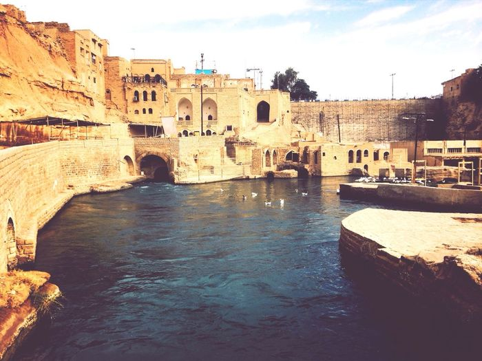 The ancient watermills at Shushtar Unesco World Heritage Site Traveling
