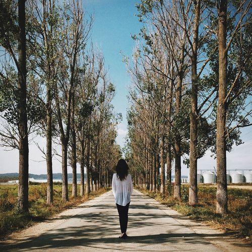 Taking Photos Girl Beautiful Landscape