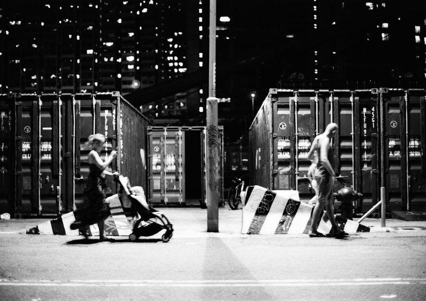 Family Time Hong Kong City Streetphotography Minolta X700 Film Film Not Dead Yet Full Length Childhood Child Sitting Boys