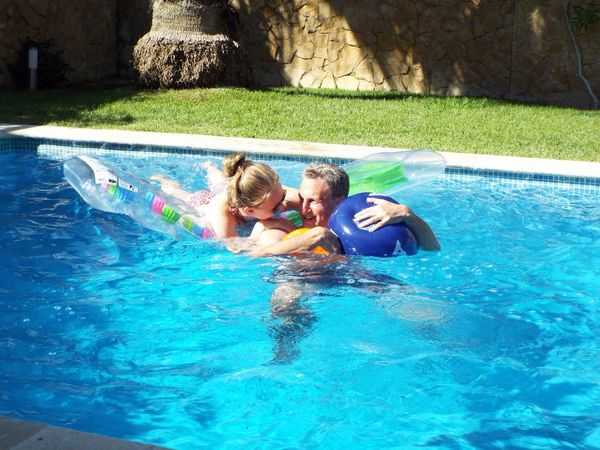 Pool Pool Party Pooltime Poolday Poolfun Poollife Dad Daughter Daddysgirl Daddy's Girl Daddy Daughter Time Holiday Fun Splash Play