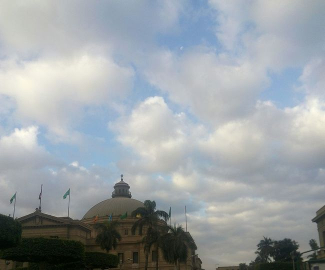 Sky Cloud - Sky No People Outdoors Dome Day Nature No Filter, No Edit, Just Photography Huaweicamera No Filter Beauty In Nature 😍❤️ Cairo University Winter About To Rain