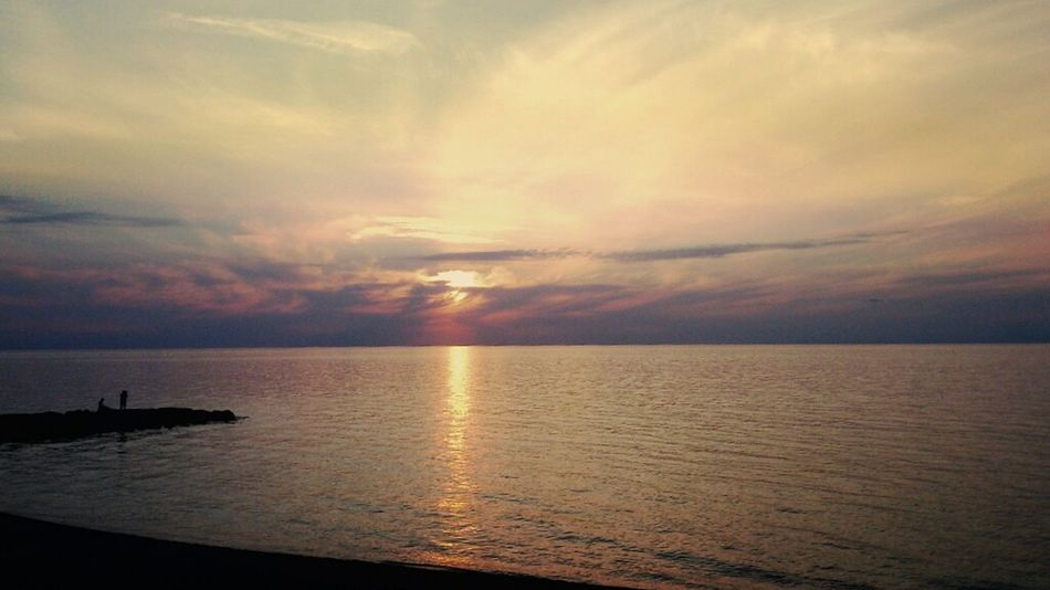 Capo D'Orlando Tramonto Mare Sun #sunset #beach #sea