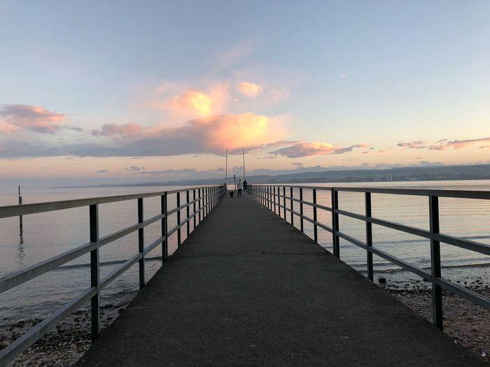 Cloud on Bridge Konstanz Bodensee IPhone X Scenics - Nature