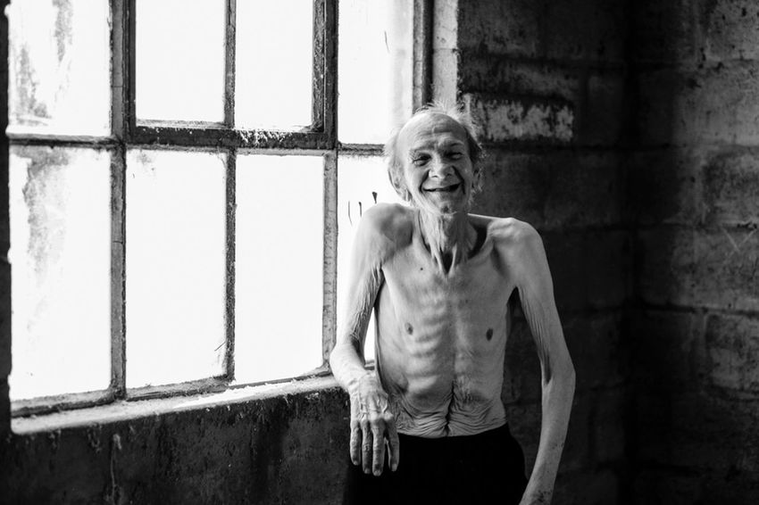 This Is My Skin One Person Real People Portrait Looking At Camera Lifestyles Smiling Wall - Building Feature