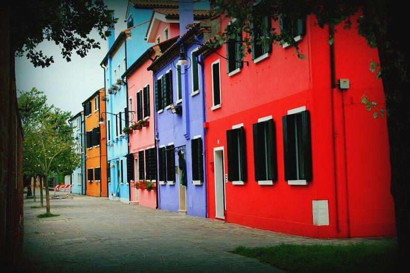 Burano, Italy Venice, Italy Colors
