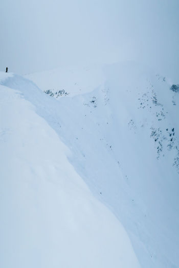 Advanced Adventure Backcountry Skiing Cold Temperature Danger Day Deep Snow Extreme Sports Kicking Horse Landscape Mountain Nature Off Piste Offpiste Outdoors Powder Snow Skill  Snow Steep Winter Whitewall Break The Mold Lost In The Landscape Go Higher