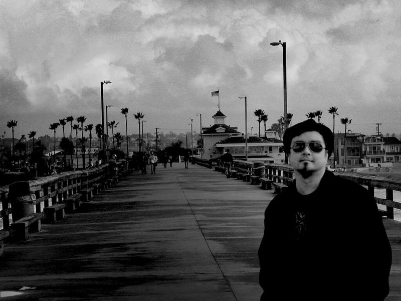 At the Newport Pier early one cold Sunday morning a few years ago. I weighed probably about 10 more pounds then. Regardless, it was still cold. Newport Beach Balboa Peninsula Sunday Morning Life Is A Beach