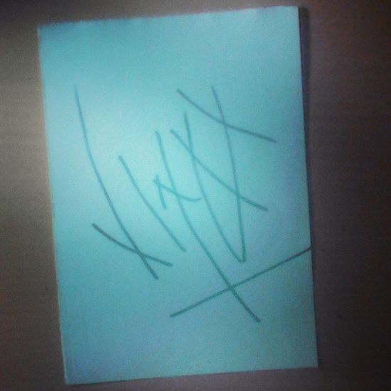 Autograph @jinxxed4life BvB Autograph Jinxx