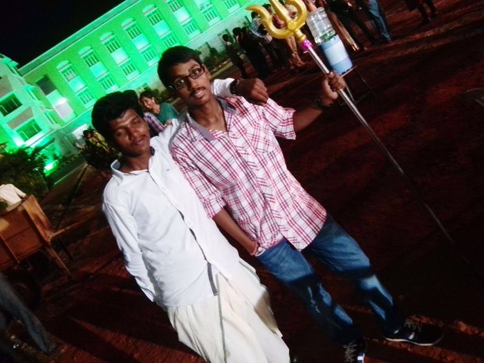 Enjoyed the college day .....