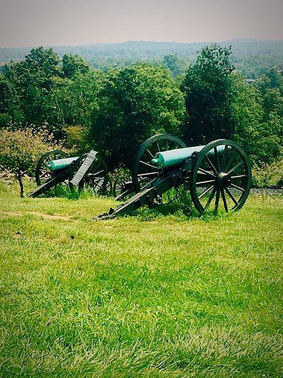 Field History Gettysburg Battlefield Gettysburg Pennsylvania Cannon