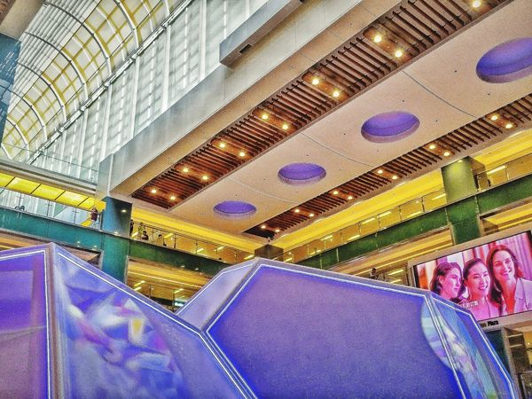 Shopping Mall Geomatric Shapes Man Made Object Multi Colored Displaydesign Artistic Expression My Uniqe Style Interior Architecture Check This Out 😊 Skylight By Design