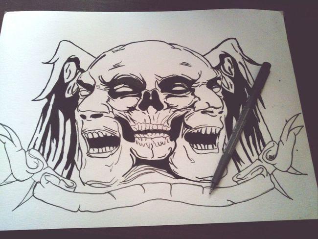 I 'm crazy Skull