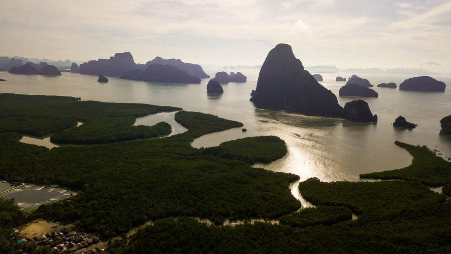 Aerial photo of landscape Mountain and Coast Thailand . Cape  Nature Water South Panorama Background Sea Rica Cyprus Beach Ocean Costa Sky Queensland View Amalfi  Landscape Australia Gold Aerial Hawaii Town Thailand Drone  Coast Blue Coastline Kauai Beautiful Travel Forest Photo Vacation Summer Green Table Tourism Wave Mountain Beauty In Nature Scenics - Nature Tranquil Scene Tranquility No People Cloud - Sky Rock Land Day Environment Idyllic Outdoors Plant Stack Rock
