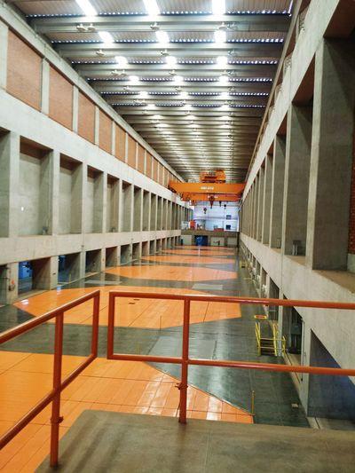 Architecture Hidroelectric Generators Powerhouse